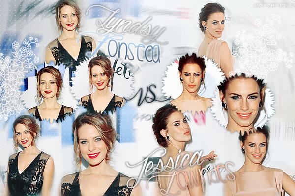 ♥Lyndsy Fonseca VS Jessica Lowndes ♥Création : NewGirlWorld