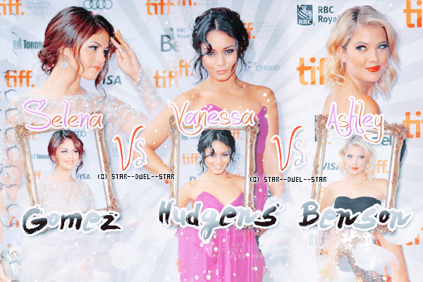 ♥Selena Gomez VS Vanessa Hudgens VS Ashley Benson ♥Création : Amazing-Awkward
