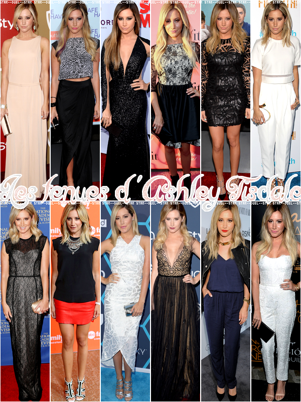 ♥VS Tenues Ashley Tisdale ♥Création : Star--Duel--Star