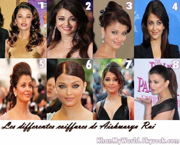 Les différentes coiffures des stars de Bollywood ( PART 1 ...