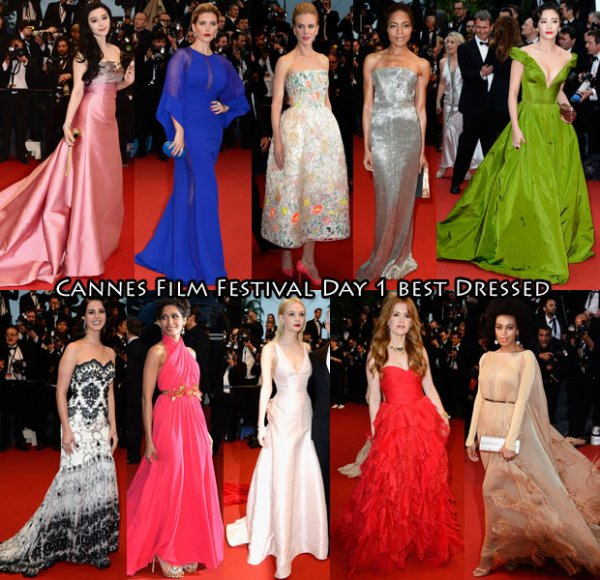 Festival de cannes 2013 ( Day 1 & Day 2 )