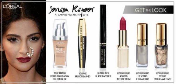 Sonam Kapoor's 'Enchantress' look decoded / Get Sonam & Freida's Cannes Look