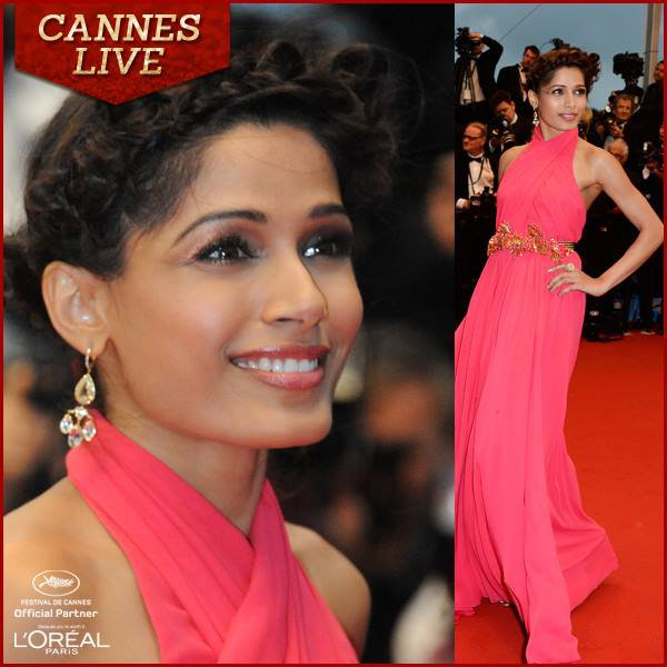 Sonam Kapoor's 'Enchantress' look decoded / Get Sonam & Freida's Cannes Look