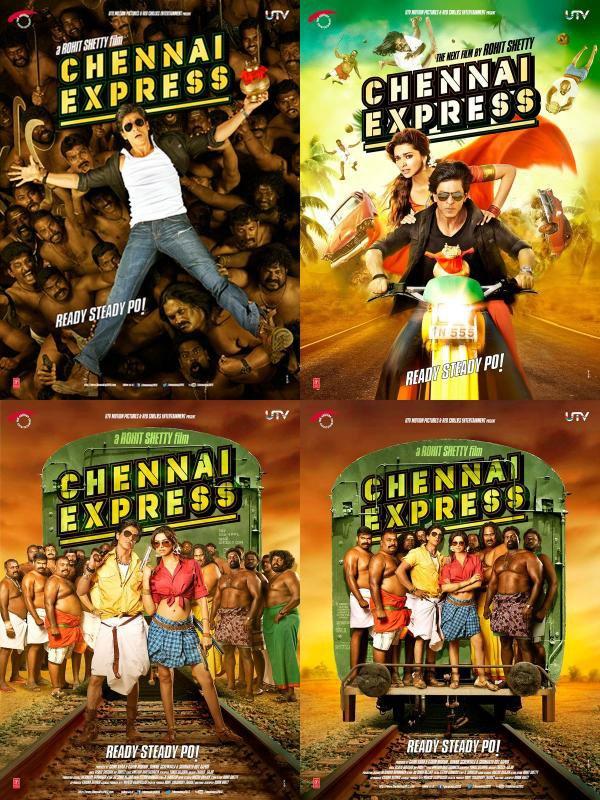 EXCLUSIVITÉ = Chennai Express ( Les posters / Mini résumé / Bande annonce en VOSTFR )