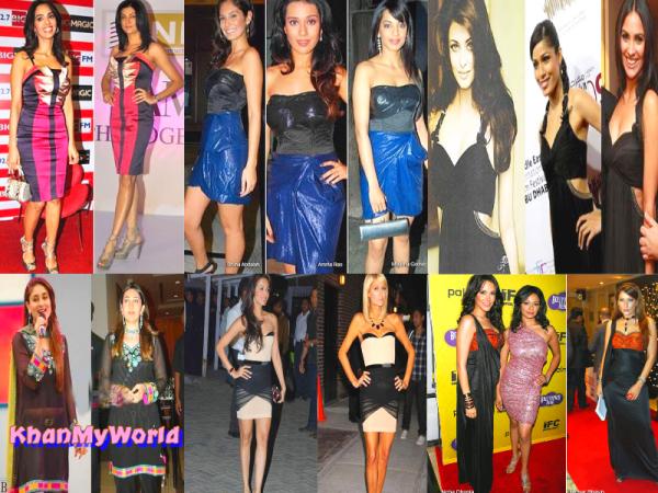 OOUPS - Les actrices qui ont mis les mêmes vêtements !