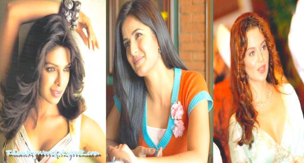 Priyanka Chopra VS Katrina Kaif VS Kangana Ranaut