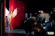 Photo du Facebook D'alessandra ( Behind the scene by Michael Bay )