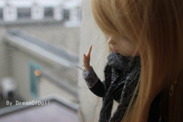Séance au bord d'une fenêtre.♥