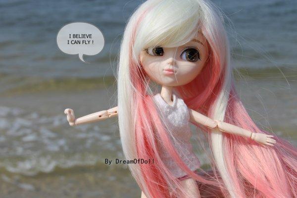 Azumi à la plage