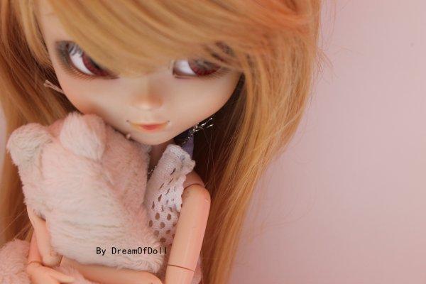 La peluche d'Emie