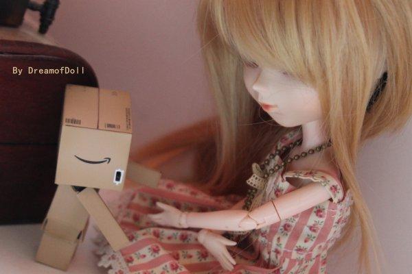 Emie et mon Danbo !♥