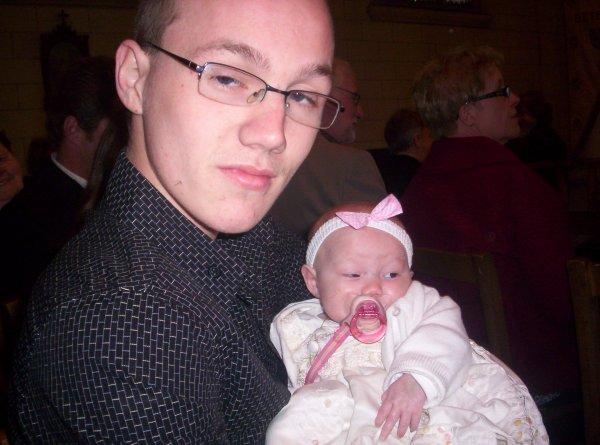 mon ange avec son papa