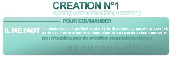 CREATION N°1