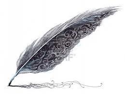 Je laisse ma plume me porter vers un nouvel espoir m'envoûter