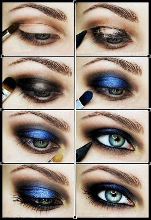 [Tuto 5] Make-up Bleu