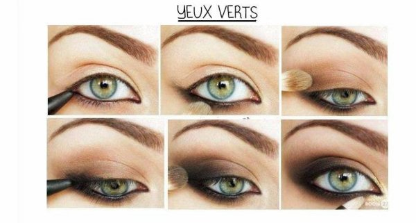 [Tuto 8] Yeux verts