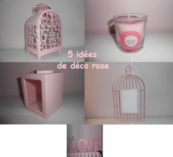 [Déco 6] 5 idées de déco rose ♣