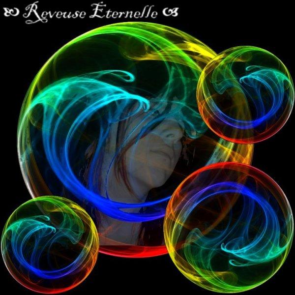 Les bulles voyagent...