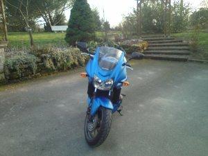 ma nouvelle moto