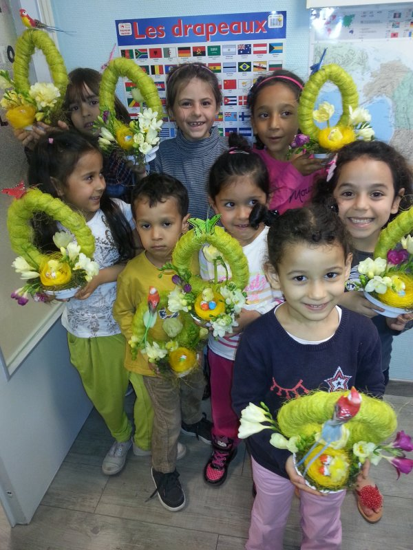 Atelier enfants a la residence du Manoir