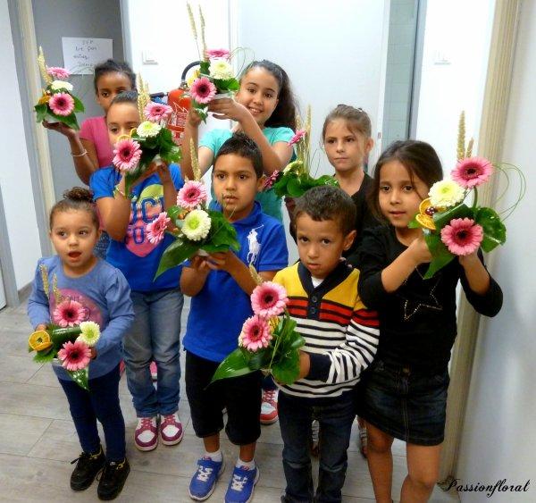 ATELIER D'ART FLORAL POUR ENFANTS AU MANOIR