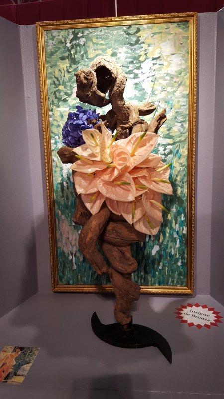 CONCOURS DE MONACO moderne de masse tableau de Matisse