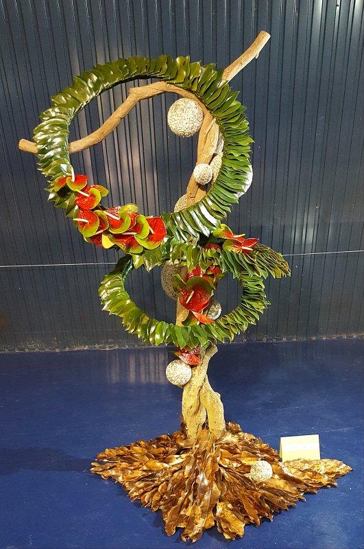 CONCOURS DE MOUGINS THE BEST sculpture florale