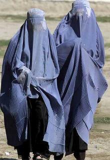 Le port de la burka !!