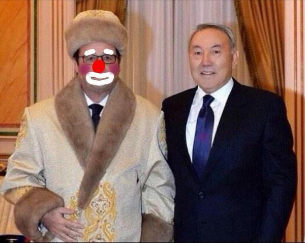 Hollande en visite