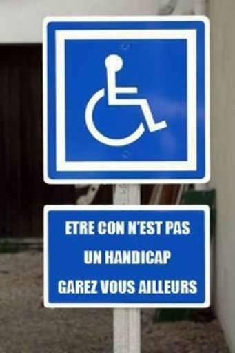 Handicap ... Ou pas ???