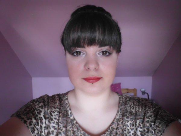 Make up du jour + nouvelle coupe de cheveux