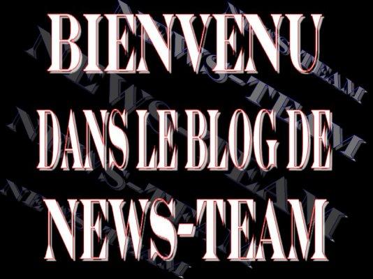 Bienvenu Dans Le Blog De News-Team