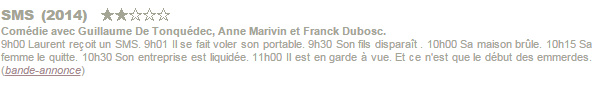 J'aime regarder les filles, The Truth about Emanuel, SMS.