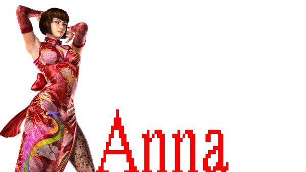 TEKKEN Anna Williams