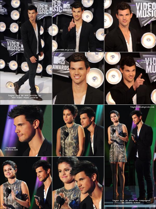 . .................#Appearances & Events (28.08.11) .....Taylor aux MTV Vidéo Music Awards lors de son arrivée et remettant un prix au coté de Selena Gomez .............................................................................................................................................................................................................