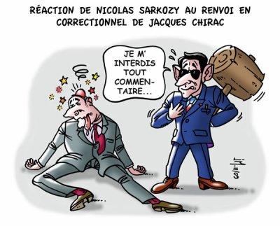 BLAGUE : C'est Chirac qui est en visite au USA. Il demande à Bush !!