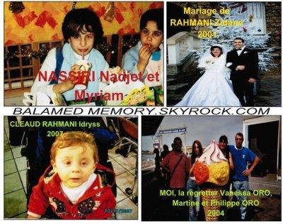 NASSIRI Nadjet, Myriam -  RAHMANI Zidane, Hamed & Idryss - ORO Philippe & Vanessa