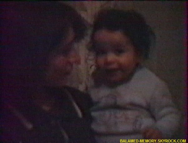 Estelle et Isabelle en Fevrier 1992