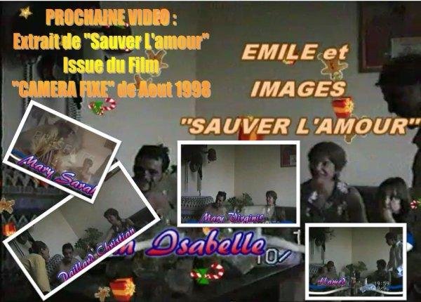 """PROCHAINE VIDEO : """"SAUVER L'AMOUR"""" façon Personnel"""