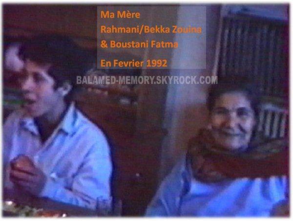 1992 02 Rahmani Zouina & Boustani Fatma