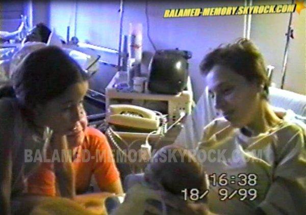 Estelle,Isa,Nini & Vincent en 1999