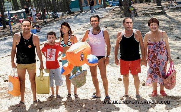 Camping de L'UMP : depart pour la plage