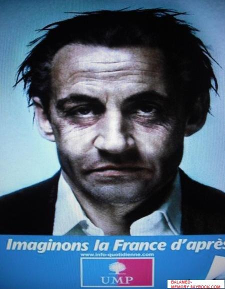 HUMOUR DE LA SEMAINE  : La France d'après Sarkozy