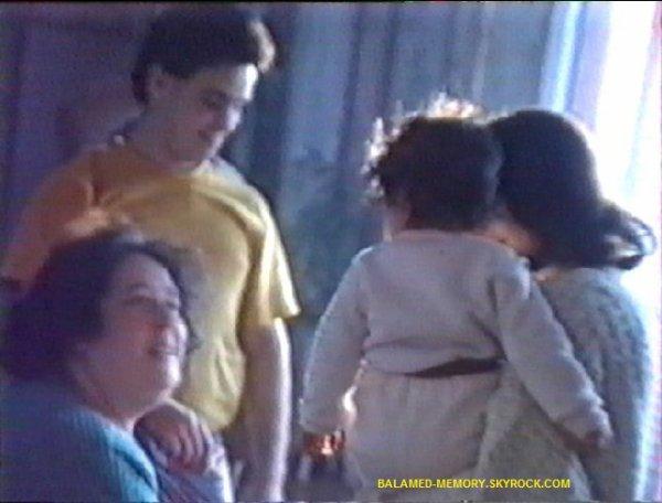 Vitaline,Jean François, Isabelle, Estelle en Février 1992