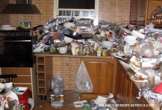 HUMOUR DE LA SEMAINE  : Cuisine poubelle