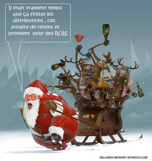 HUMOUR DE LA SEMAINE  : Fin de tournée pour le Père Noël