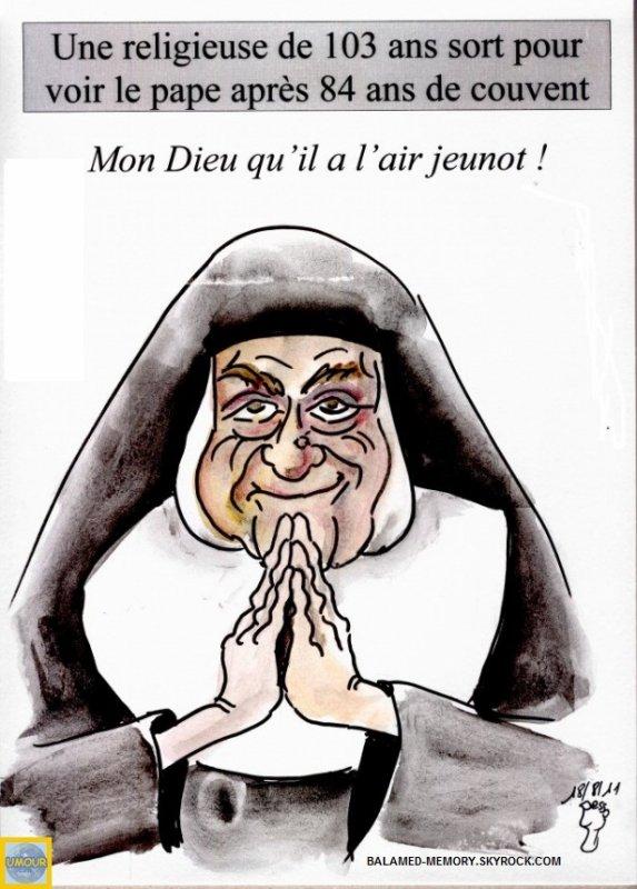 HUMOUR DE LA SEMAINE : Soeur Pape