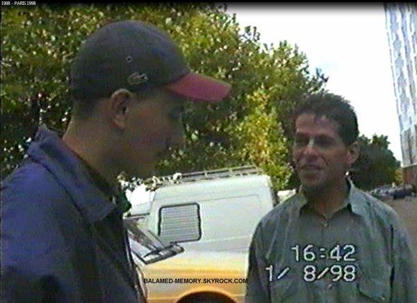 Moi et Eddy V. En Aout 1998