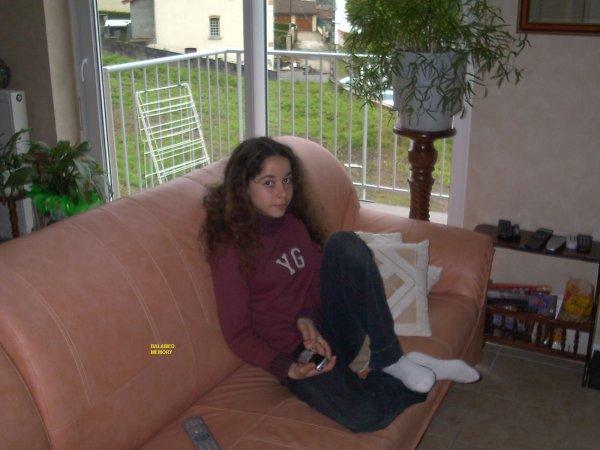 Ma fille Estelle R. en Mars 2005