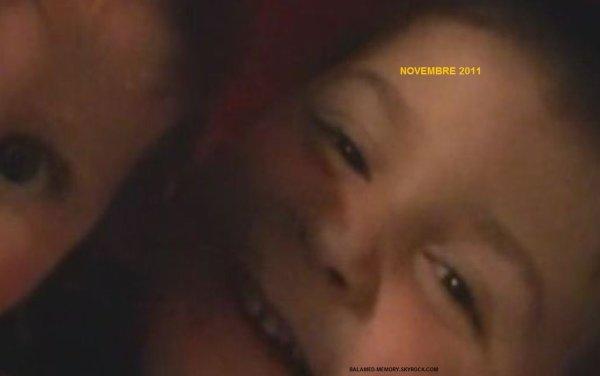 ANTHONY ET IDRYSS EN NOVEMBRE 2011